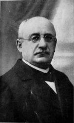 Ksaveras Sakalauskas-Vanagėlis. Nuotr. iš kn.: Vanagėlis, Ksaveras. Raštai. - Kaunas-Vilnius, 1921
